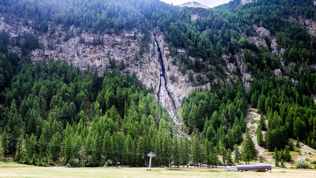 Cascade ballade Queyras
